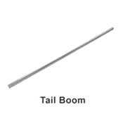 50H08-25 Tail Boom 50H08-25