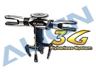 550 Flybarless System Main Rotor Set/Black H55069