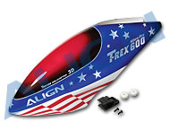 600N Painted Canopy/American Flag HC6003