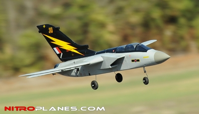 64MM Airframe Version 5-CH F3 Tornado EDF Jet w/ Sweepback Wings (Grey) RC Remote Control Radio