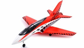 64mm Concept X Super Performance Brushless Ducted Fan RC Jet ARF Receiver-Ready (Red) RC Remote Control Radio