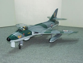 68mm Electric Ducted Fan Hawker Hunter EPO Aircraft body + metal base retracts(Traditional British)