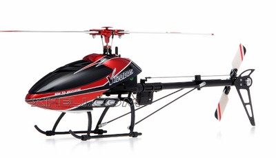 6CH 2.4Ghz Walkera V120D05 3D Flybarless Remote Control Aluminum Rotor Head/ Belt Driven Tail Rotor/Brushless ESC, Motor/ 3-Axis Gyro Ready to Fly Helicopter RC Remote Control Radio