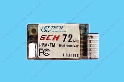 6Ch Receiver (Art-Tech Falcon 3D) ATS6106