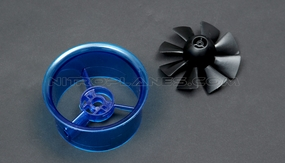 70mm EDF Kit,including the unique 8-blade fan rotor  and ducted housing