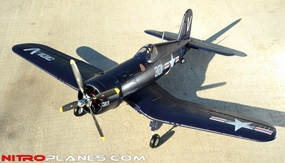 93A304 Airfield F4U Corsair Blue