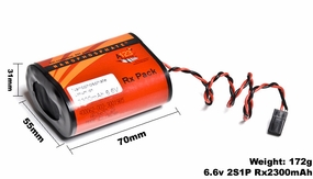 A123 Systems Rx 1100mAh 6.6V 2S1P Lithium-ion LiFePo4 Battery A123-400317-003