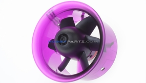 AEO-RC 55mm Ducted Fan Combo w/ 4100KV Brushless Motor