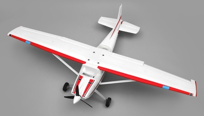 AeroSky RC 185 Sky Trainer RC Plane w/Float 4 Channel KIT 1500mm Wingspan (Red) RC Remote Control Radio