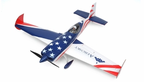 "AeroSky RC 4 Channel Extra 330SC Special Edition 55"" Sports Aerobatic Brushless RC Airplane Kit (Blue) RC Remote Control Radio"