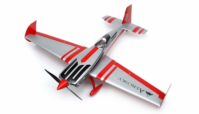 "AeroSky RC 4 Channel Extra 330SC Special Edition 55"" Sports Aerobatic Brushless RC Airplane Kit (Red) RC Remote Control Radio"