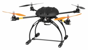 AeroSky RC C6 RC 6 Channel Carbon Quadcopter Ready to Fly 2.4Ghz RC Remote Control Radio