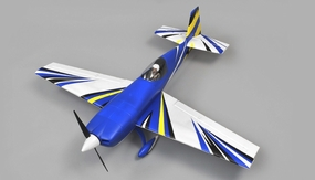 "AeroSky RC 4-Channel Extra 330SC 4CH Special Edition 55"" Sports Aerobatic Brushless RC Airplane RTF (Blue) RC Remote Control Radio"