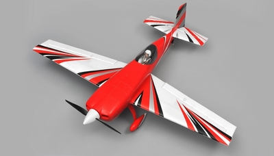 "AeroSky RC Extra 330SC 4CH Special Edition 55"" Sports Aerobatic Brushless RC Airplane RTF (Red) RC Remote Control Radio"