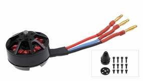 AeroSky Performance Brushless Multi-Rotor Motor MC2206-2000KV Counterclockwise 05M-26-MC2206-2000KV-12P-CCW - Brushless Motor for Drones Quadcopters