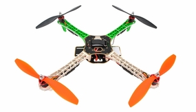 AeroSky RC Quadcopter  4 Channel ARF w/ LED, Motor, ESC, MWC Flight Control Board (Green) RC Remote Control Radio