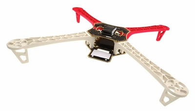 AeroSky RC Quadcopter  4 Channel Kit Frame (Red) RC Remote Control Radio