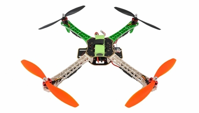 AeroSky RC Quadcopter  4 Channel RTF w/ LED (Green) RC Remote Control Radio