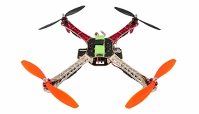 AeroSky RC Quadcopter  4 Channel RTF w/ LED (Red) RC Remote Control Radio