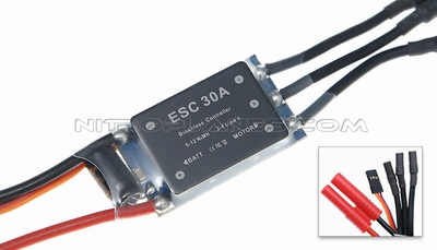 AirField 800mm Spitfire Brushless ESC 93A235-13-BrushlessESC