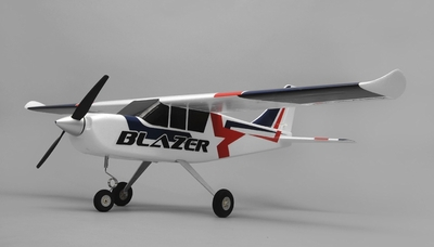 Airfield Blazer RC 4 Channel Trainer Plane Ready to Fly RTF 1280mm Wingspan RC Remote Control Radio 95A283-Blazer-Blue-RTF-24G