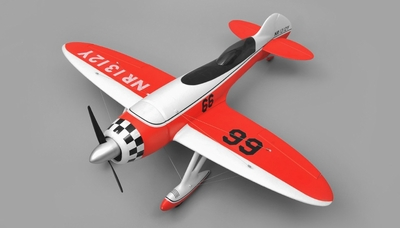 Airfield GeeBee Aerobatic 4 Channel ARF RC Plane Wingspan 1200mm (Red) RC Remote Control Radio 95A507-GB-Red-ARF
