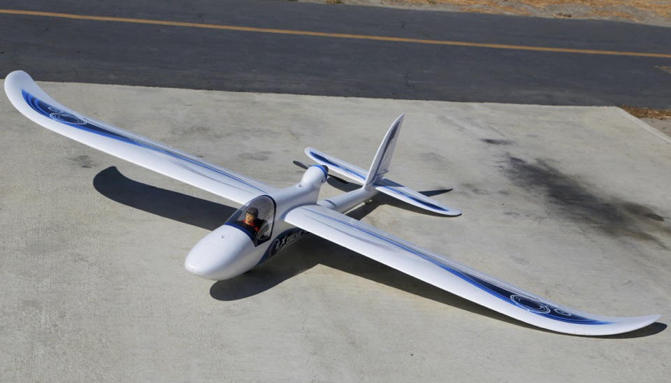 Airfield Giant Convertible Edf Power Rc Glider Almost
