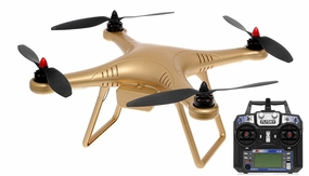 Airfield Gold X350 Quadcopter Drone GPS 2.4ghz Ready to Fly RC Remote Control Radio
