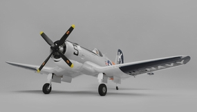Airfield RC F4U Corsair 1450mm Warbird Airplane Ready to Fly 2.4ghz 1450mm Wingspan(Grey) RC Remote Control Radio