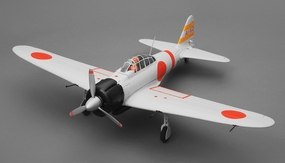 Airfield RC Plane 4 Channel Zero 800mm Almost Ready to Fly (Grey) RC Remote Control Radio