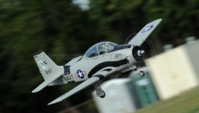 AirField RC T28 1400mm Radio Control Warbird Plane  *Super Scale* EPO Foam Plane + Electric Retracts  (Grey) Kit Version RC Remote Control Radio