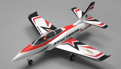 Airfield Sonic Piercer 64mm EDF Airplane Jet Ready to Fly RC 4 Channel 800mm Wingspan RC Remote Control Radio