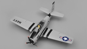 Airfield RC T28 Trojan 4 Channel Airplane Almost Ready to Fly ARF 800mm Wing Span (Grey) RC Remote Control Radio