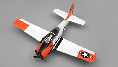 Airfield RC T28 Trojan 4 Channel Airplane Kit 800mm Wing Span (Red) RC Remote Control Radio