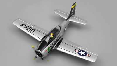 Airfield RC T28 Trojan 4 Channel Airplane Kit 800mm Wing Span (Silver) RC Remote Control Radio