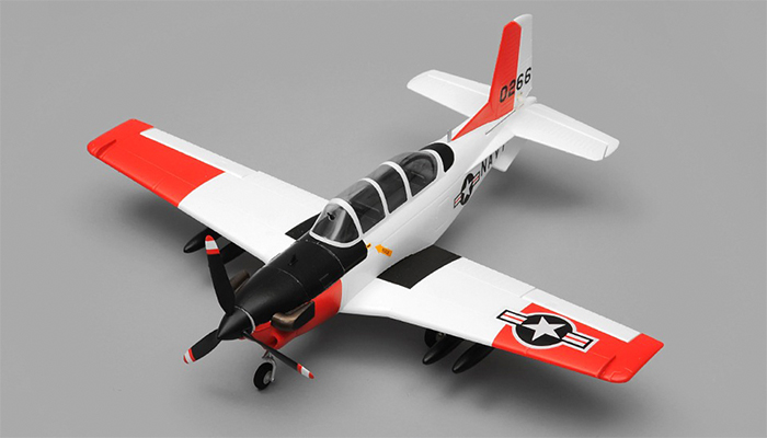 Airfield T34 Mentor RC Plane 4 Channel Kit Wingspan 750mm