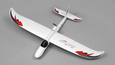 AirWing 4-CH Whisperwind 1372MM RC EPO Glider 2.4G RTF (Red) RC Remote Control Radio