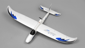 AirWing 4-CH Wingsurfer 1372mm RC Trainer/Glider EPO RTF 2.4Ghz (Blue) RC Remote Control Radio