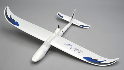 Airwing RC WingSurfer Airplane Glider 4 Channel 2.4ghz Ready to Fly RC 1400mm Wingspan (AA Blue) RC Remote Control Radio