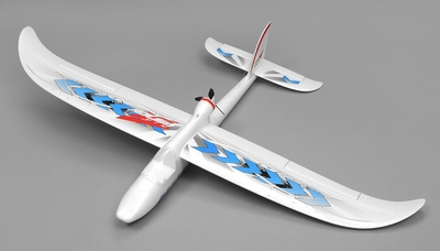 Airwing RC WingSurfer Airplane Glider 4 Channel 2.4ghz Ready to Fly RC 1400mm Wingspan (Blue) RC Remote Control Radio