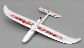 Airwing RC WingSurfer Airplane Glider 4 Channel Almost Ready to Fly RC 1400mm Wingspan (Red) RC Remote Control Radio