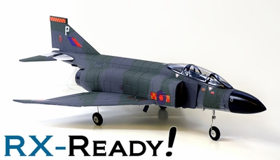 ARF F-4E Phantom 64mm EDF RC Jet (without TX, RX) RC Remote Control Radio
