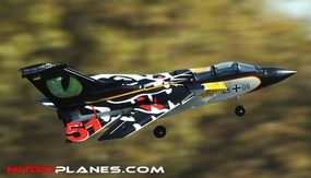ARF Receiver-Ready 64MM 5-CH F3 Tornado EDF Jet w/ Sweepback Wings (Black) RC Remote Control Radio