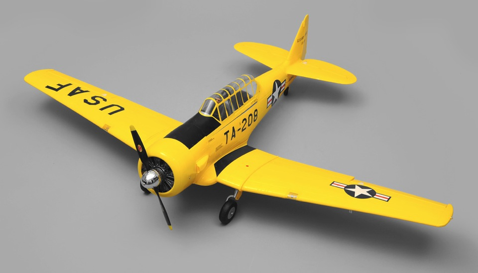 Art Tech AT6 6 Channel Warbird/Trainer RC Plane RTF 2 4Ghz