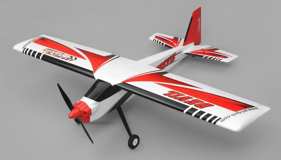 Art Tech Devil 4 Channel Sports/Trainer RC Plane RTF 2 4Ghz