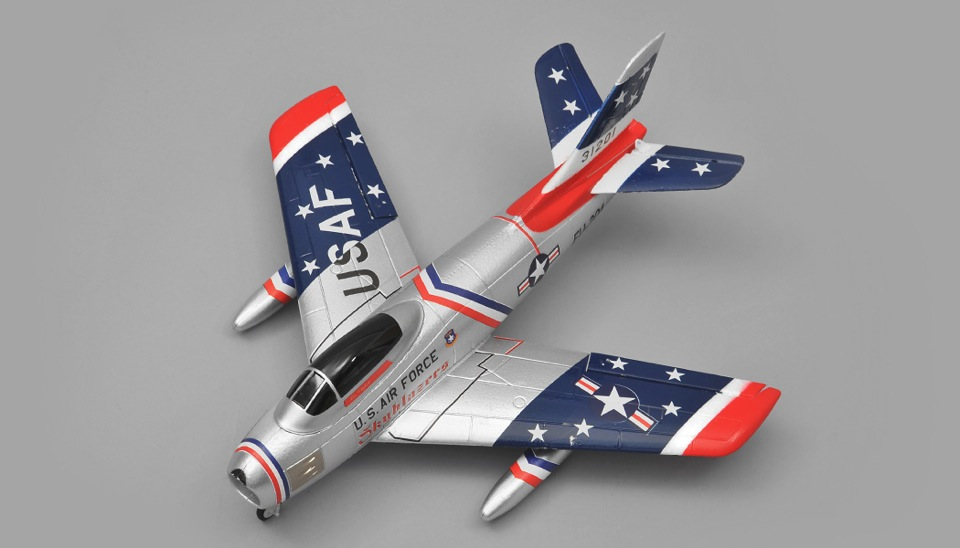 Art Tech F86 4 Channel Edf Rc Plane Rtf 2 4ghz Rc Remote