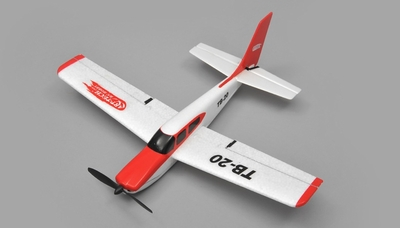 Art Tech TB20  Sports Trainer Airplane 3 Channel  RC Plane RTF 2.4Ghz RC Remote Control Radio