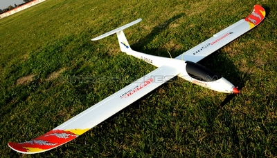"ArtTech 98"" Wing Span Diamond 2500 3D Electric Powered EPO Glider Airplane 2.4G RTF RC Remote Control Radio"