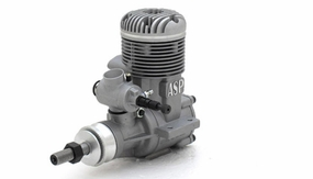 ASP 120AR  2 Stroke Glow Engine with Muffler for Airplane 72P-120AR