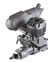 ASP 2 Stroke Glow Engine with Muffler for Airplane 72P-S32AII